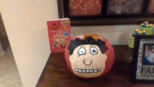 most accurate book cover pumpkin entry photo